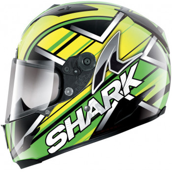 Мотошлем SHARK Race-R KRISTO Black-Green-Yellow XL
