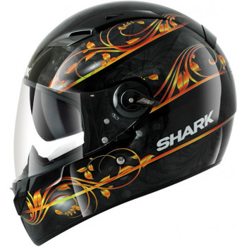 Шлем Shark VISION-R Divine Black-Orange M