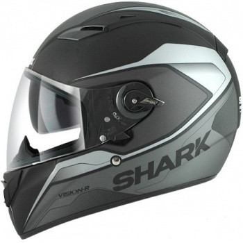 Шлем Shark VISION-R Syntic MAT ST Black-Silver L