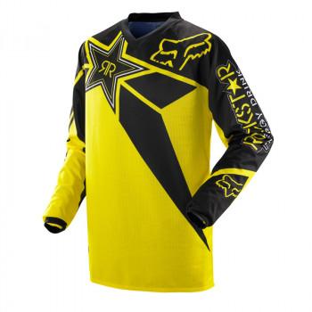Джерси Fox HC Rockstar JSY Black-Yellow XL