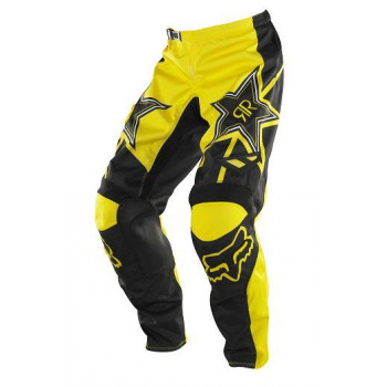 Кроссовые штаны FOX 180 Rockstar PNT Black-Yellow 34