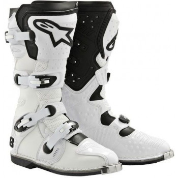 Мотоботы ALPINESTARS TECH 8 RS VENTED White 10 (44.5)