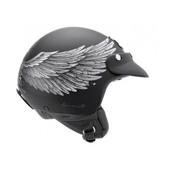 Mотошлем Nexx X60 Eagle Rider Black-Silver M