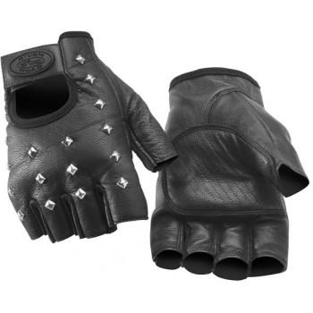 Мотоперчатки без пальцев River Road Vegas Black L