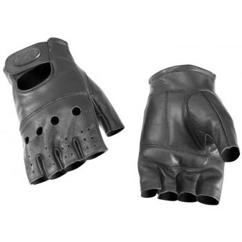 Мотоперчатки без пальцев River Road Hollister II Black L