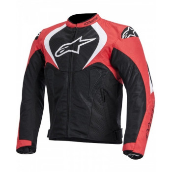 Мотокуртка Alpinestars T-JAWS текстиль Black-Red-White XL