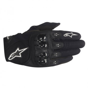 Мотоперчатки Alpinestars OCTANE кожа-текстиль Black 2XL
