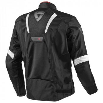 фото 2 Мотокуртки Мотокуртка REVIT GT-R AIR текстиль Black-White S