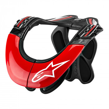 Защита шеи Alpinestars BNS PRO Red-Black-White S-M (2014)