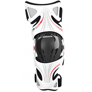 Мотонаколенники Alpinestar FLUID PRO X-BLEND White-Black-Red XL-2XL (2014)