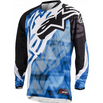 Джерси Alpinestars Racer Blue-Black 32 (2014)