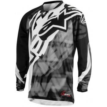 Джерси Alpinestars Racer Grey-Black 32 (2014)