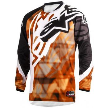 Джерси Alpinestars Racer Orange-Black 30 (2014)