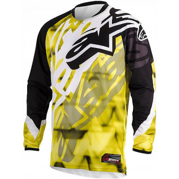 Джерси Alpinestars Racer Yellow-Black 32 (2014)