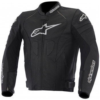 Мотокуртка кожаная Alpinestars GP Plus R Perforated Black 52 (2014)