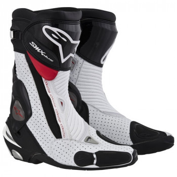 Мотоботы Alpinestars S-MX Plus Vented Black-White-Red 44