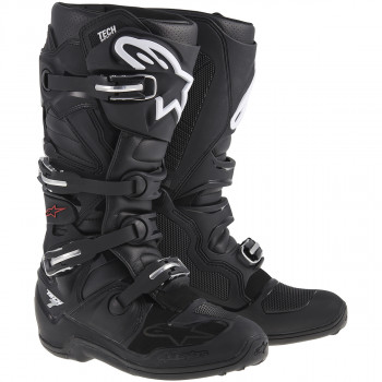 Мотоботы Alpinestars Tech 7 Black 42 (2014)