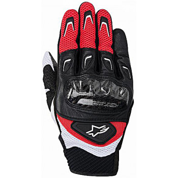 Мотоперчатки Alpinestars SMX-2 Air Carbon Red-Black XL (2014)