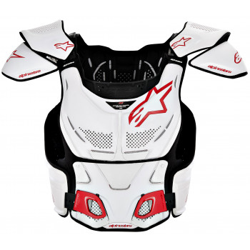 Моточерепаха Alpinestars A-8 White-Red M-2XL