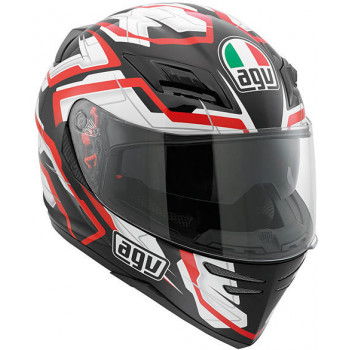 Мотошлем AGV HORIZON STAMINA Black-White-Red S