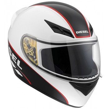 Мотошлем AGV DIESEL Full Jack Logo White-Black-Red L