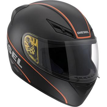Мотошлем AGV DIESEL Full Jack Logo Black-Orange S