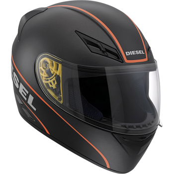 Мотошлем AGV DIESEL Full Jack Logo Black-Orange XL