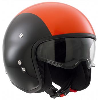 Мотошлем AGV DIESEL HI-JACK Black-Orange XL
