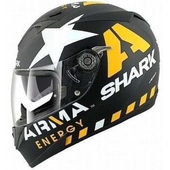 Мотошлем Shark S700 Pinlock Redding Mat Black-Yellow-White L