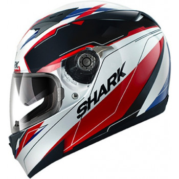 Мотошлем Shark S700 Pinlock Lab White-Black-Red S