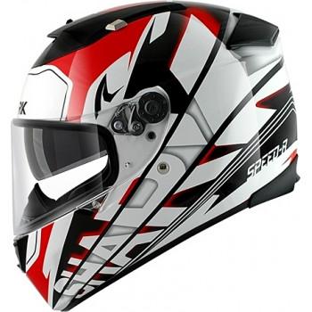Мотошлем Shark Speed-R MXV Craig White-Black-Red L