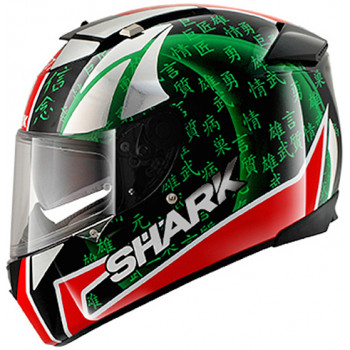 Мотошлем Shark Speed-R MXV Sykes Black-Red-Green S