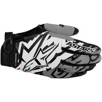 Мотоперчатки Alpinestars Racer Grey-Black XL