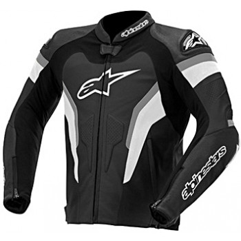 Мотокуртка кожаная Alpinestars Gp Pro Black-Anthracite 56