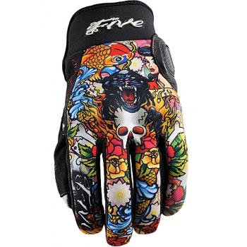 Мотоперчатки FIVE Slide Tattoo Cougar XL