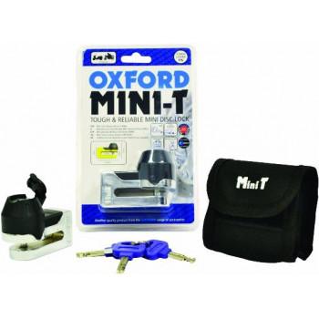 Мотозамок Oxford Mini T Chrome