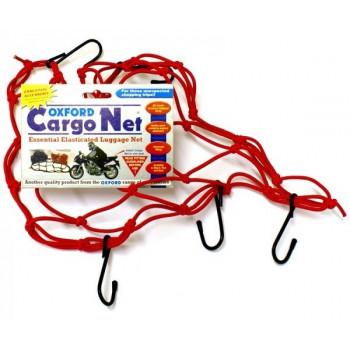 Сетка багажная Oxford Cargo Net Red