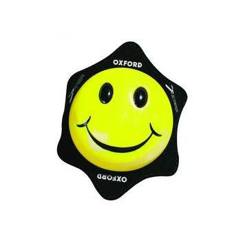 Слайдер для мотобрюк Oxford Smiley Yellow