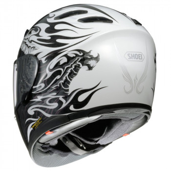 Мотошлем Shoei XR-1100 Beowulf White-Black XL