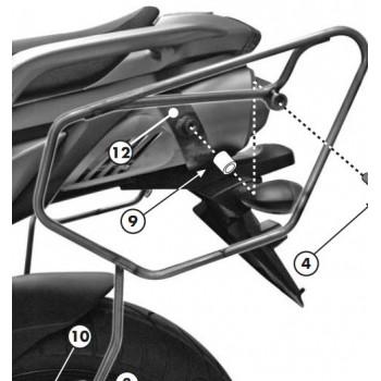 Спец. крепёж GIVI TE351 для боковых сумок сEASYLOCK YAMAHA FZ6 S2 / FZ6 FAZER 600 S2 (07>11)