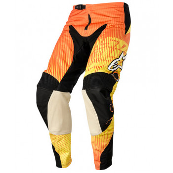 Мотоштаны Alpinestars Charger Orange-Red-Yellow XS (28)