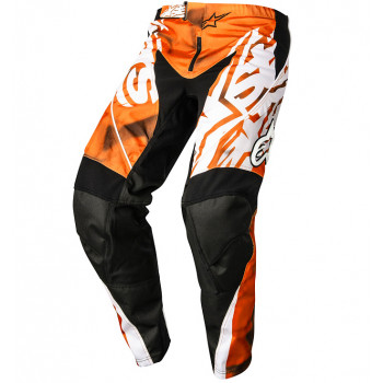 Мотоштаны Alpinestars Racer Orange-Black XS