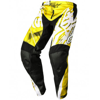 Мотоштаны Alpinestars Racer Yellow-Black XL