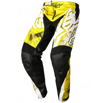Мотоштаны Alpinestars Racer Yellow-Black XS