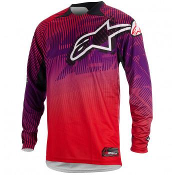 Джерси Alpinestars Charger Red-Purple L