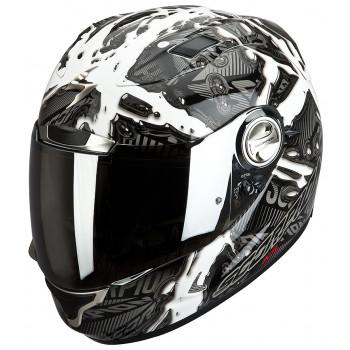 Мотошлем Scorpion EXO-1000 AIR Petrol Matt White L