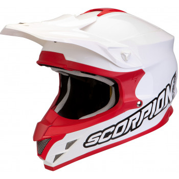 Мотошлем Scorpion VX-15 AIR White-Red XL
