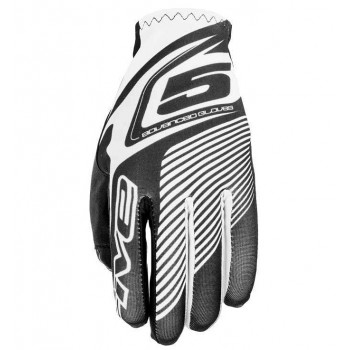 Мотоперчатки Five MX Practice White-Black S