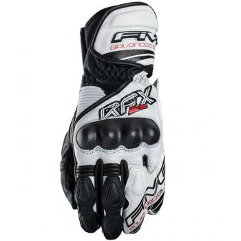 Мотоперчатки кожаные Five RFX-2 White-Black M