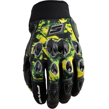 Мотоперчатки Five Stunt Rappongi Green S